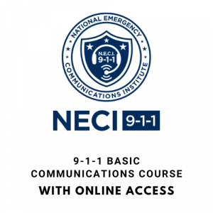 9-1-1 Baseic Communications Course With Online Access